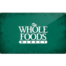 Up to 1.6% off Whole Foods Gift Cards from Raise.com