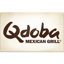 Up to 1.2% off Qdoba Gift Cards from Raise.com