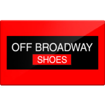 Up to 5% off Off Broadway Shoes Gift Cards from Raise.com
