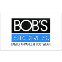 Up to 2.7% off Bob's Stores Gift Cards from Raise.com
