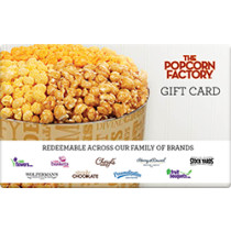 Up to 17.9% off The Popcorn Factory Gift Cards from Raise.com