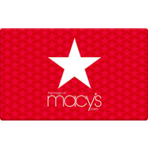 Up to 0.9% off Macy's Gift Cards from Raise.com