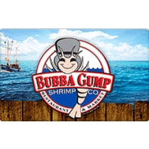 Up to 15.6% off Bubba Gump Gift Cards from Raise.com
