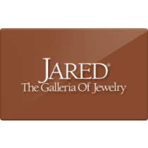 Up to 2% off Jared Gift Cards from Raise.com