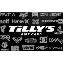Up to 2% off Tilly's Gift Cards from Raise.com