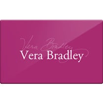 Up to 2% off Vera Bradley Gift Cards from Raise.com