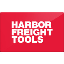 Up to 6.5% off Harbor Freight Tools Gift Cards from Raise.com