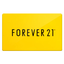 Up to 3% off Forever 21 Gift Cards from Raise.com