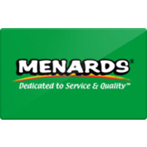 Up to 3% off Menards Gift Cards from Raise.com