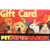 Up to 3% off Pet Supermarket Gift Cards from Raise.com