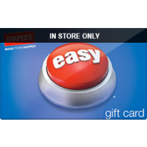 Up to 3% off Staples (In Store Only) Gift Cards from Raise.com