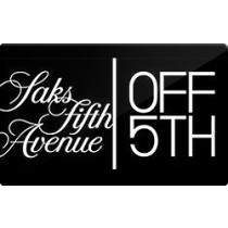 Up to 3.6% off Saks Fifth Avenue OFF Fifth Gift Cards from Raise.com