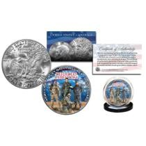 Up to 37% off Defenders of Freedom U.S. Armed Forces Military Eisenhower IKE Dollar