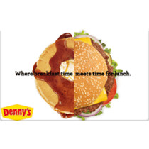 Up to 4% off Denny's Gift Cards from Raise.com