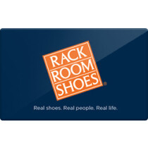 Up to 4% off Rack Room Shoes Gift Cards from Raise.com