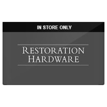 Up to 4% off Restoration Hardware (In Store Only) Gift Cards from Raise.com