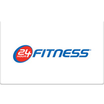 Up to 8% off 24 Hour Fitness Gift Cards from Raise.com