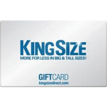Up to 5% off King Size Direct Gift Cards from Raise.com