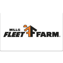 Up to 5% off Mills Fleet Farm Gift Cards from Raise.com