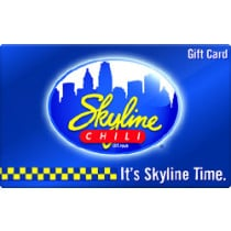 Up to 5% off Skyline Chili Gift Cards from Raise.com