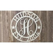 Up to 50% off Personalized Family Name Metal Sign from Metal Unlimited