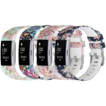 Up to 57% off Printed Silicone Replacement Bands for Fitbit Charge 2