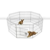 Up to 58% off Wire Metal Paneled Pet Playpen