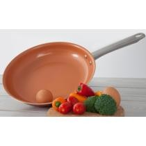 Up to 60% off Non-Stick Ceramic- or Marble-Coated Fry Pan Set (3-Piece) or Individual Fry Pans