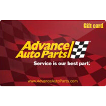 Up to 6.2% off Advance Auto Parts Gift Cards from Raise.com