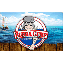 Up to 6.5% off Bubba Gump Gift Cards from Raise.com