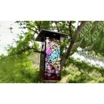 Up to 65% off Mosaic Stained Glass Bird Feeder