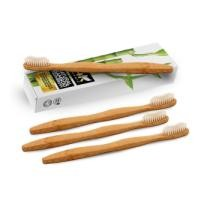 Up to 67% off 4-Pk. 24k Organic Natural Bamboo Toothbrushes