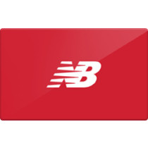 Up to 9.6% off New Balance Gift Cards from Raise.com