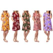 Up to 67% off Women's Floral-Print T-Shirt Dress w/ Pockets