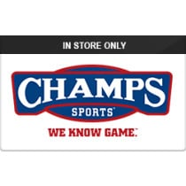 Up to 7% off Champs (In Store Only) Gift Cards from Raise.com