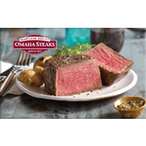 Up to 7% off Omaha Steaks Gift Cards from Raise.com