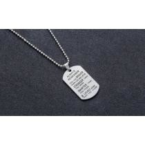 Up to 70% off Always Remember You Are Braver Letter Necklace by Maze Exclusive