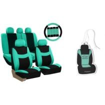 Up to 70% off Light & Breezy Car Seat Cover 14-Piece Combo Set w/ Free Car Air Freshener