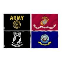 Up to 71% off ANLEY Military 3'x5' Flags - Army, Navy, Marines & more