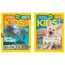 Up to 75% off National Geographic Kids' Subscription