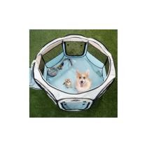 Up to 75% off Petmaker Portable Pop-Up Pet Playpen w/ Carrying Bag