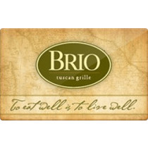 Up to 8.2% off Brio Tuscan Grille Gift Cards from Raise.com