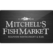 Up to 8.5% off Mitchells Fish Market Gift Cards from Raise.com