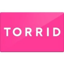 Up to 8.3% off Torrid Gift Cards from Raise.com