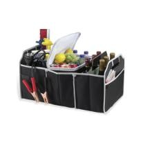 Up to 85% off Car Trunk Organizer, Black, 3 Large Sections of Storage