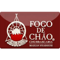 Up to 9.1% off Fogo De Chao Gift Cards from Raise.com