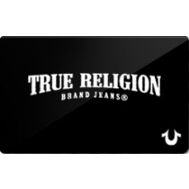Up to 9.2% off True Religion Brand Jeans Gift Cards from Raise.com