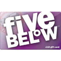 Up to 5% off Five Below Gift Cards from Raise.com