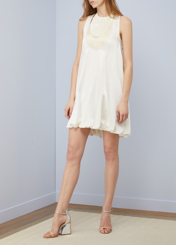Valentino Sale: Sleeveless short dress IVOIRE 80% off