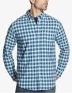 Weatherproof Vintage Plaid Brushed Flannel Pocket Shirt